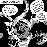 -- Your house up!