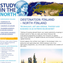 Study in Finnish Lapland Campaign: Website