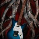 Shaman Guitars: Logo design, concept design and participating to the guitar\'s visual design.